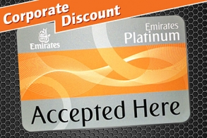 Upto 15% with Emirates Platinum